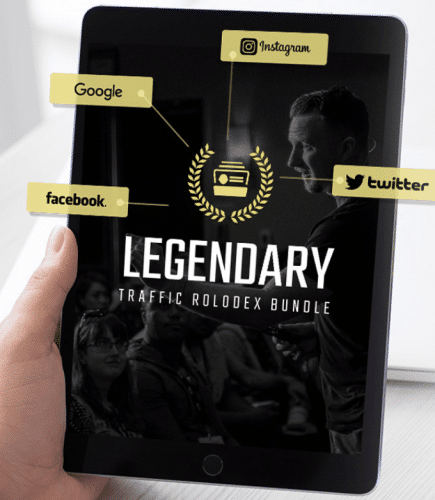 Legendary Marketer Products: Traffic University