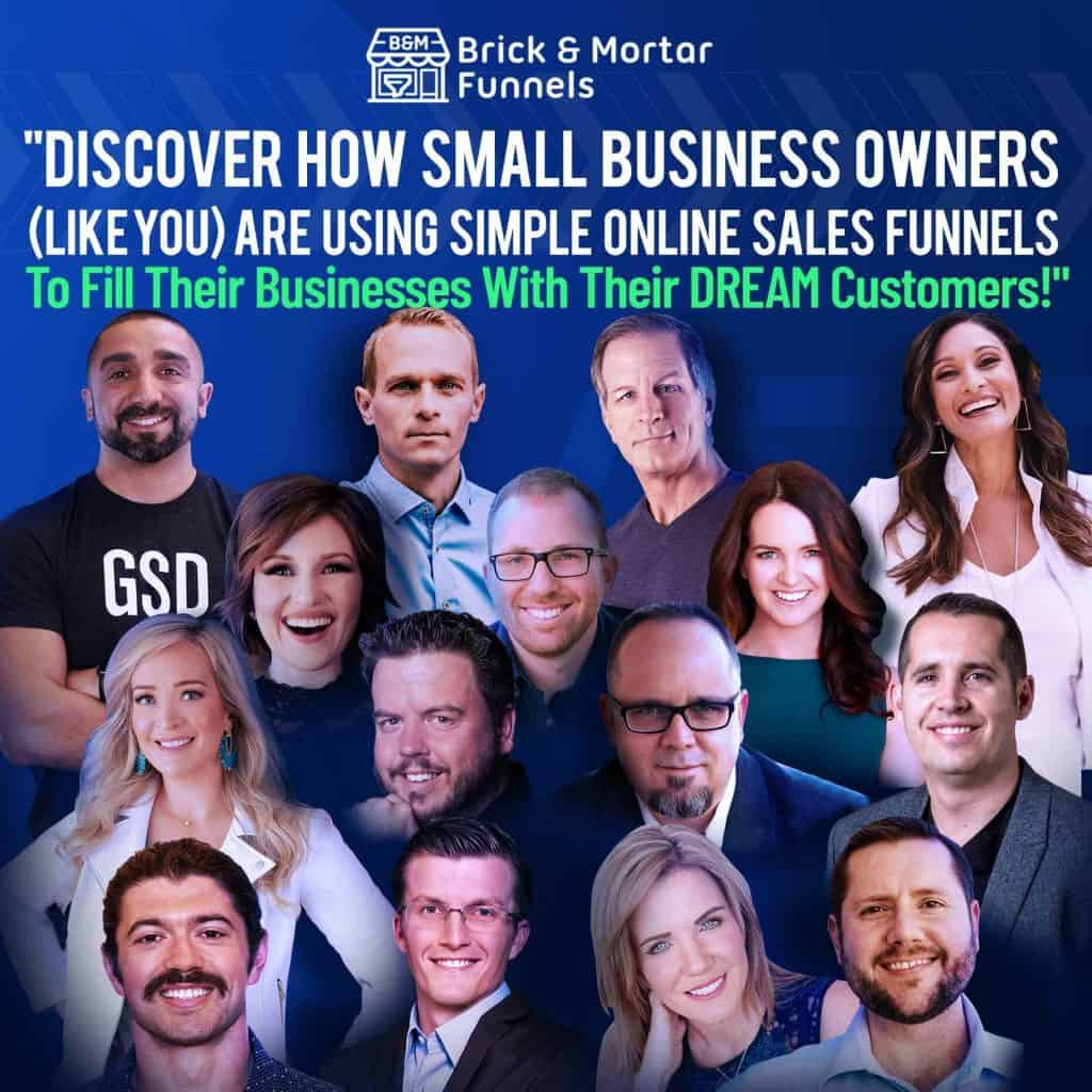 Brick And Mortar Summit By Clickfunnels: Free Training On How To Move Business To Online - Utilize Your Business