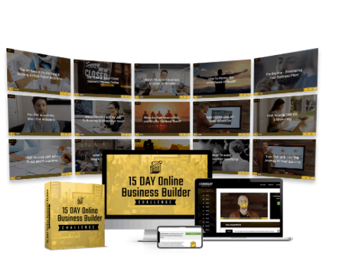 15 day online business builder challenge