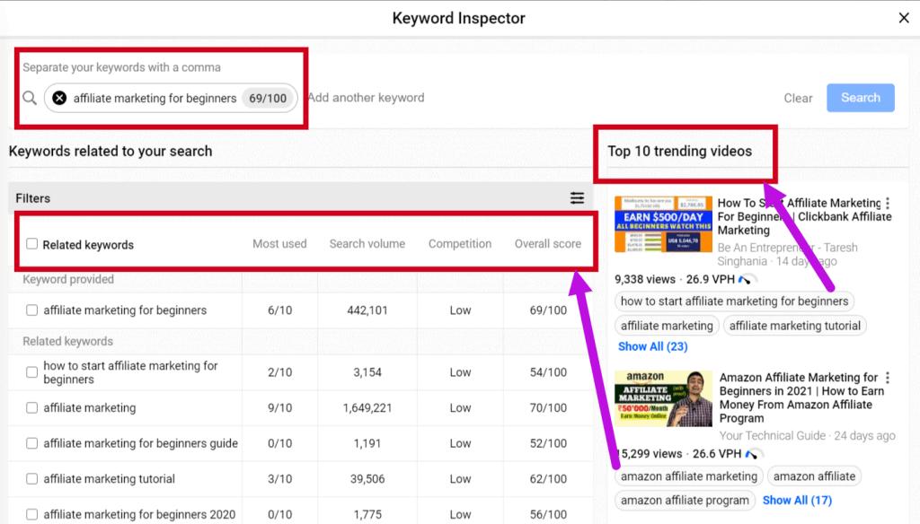best Youtube Keyword Tools