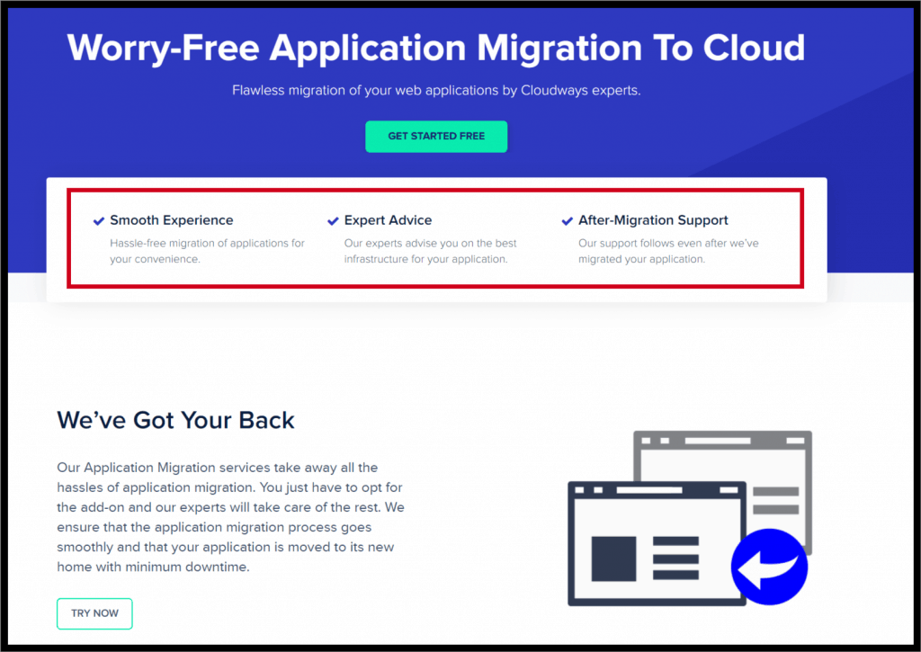 Cloudways Free Migration to Cloud